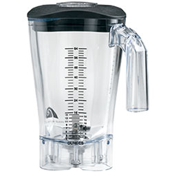 4117096-BLENDER BOWL METOS 1.8 HBH550/650/850 POLYCARBONATE CONTAINER
