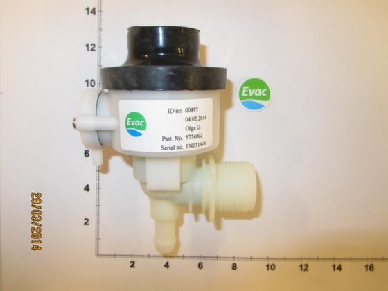 5774002 - WATER VALVE - Brand: EVAC Image 1