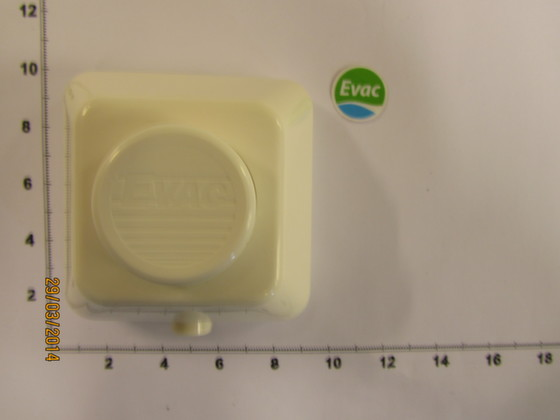 5900200-PNEUMATIC PUSH BUTTON WHITE