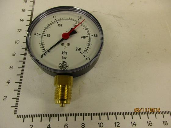 5913502-PRESSURE GAUGE 0-2, 5 BAR