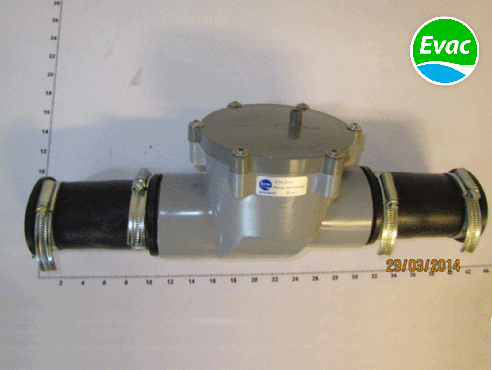 5973401-NON-RETURN VALVE DN40-40,PVC .