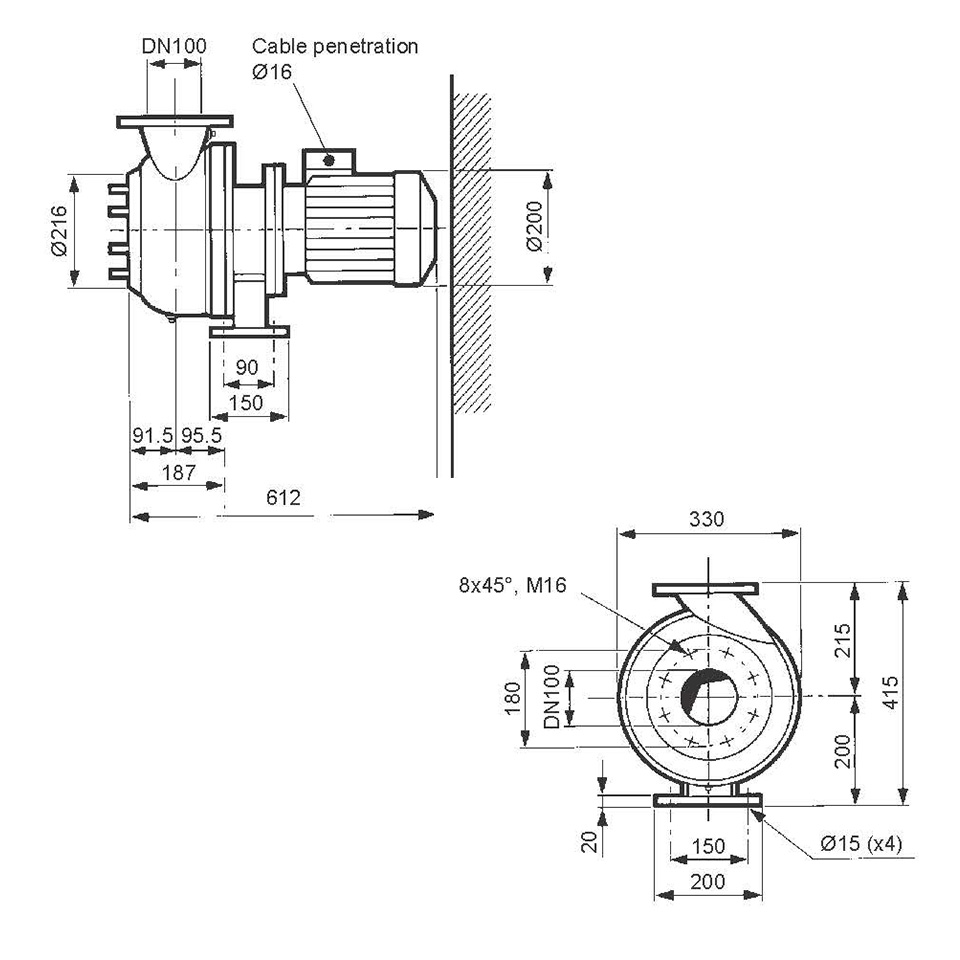 6540369-EVAC VACUUM PUMP