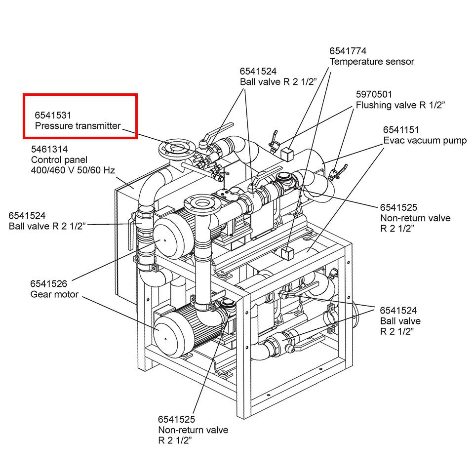 6541531-PRESS. TRANSMITTER  PSS1-420