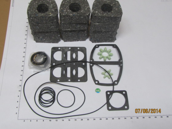 6541709 - SPARE PARTS SET, GASKET/BALL BEARINGS - Brand: EVAC Image