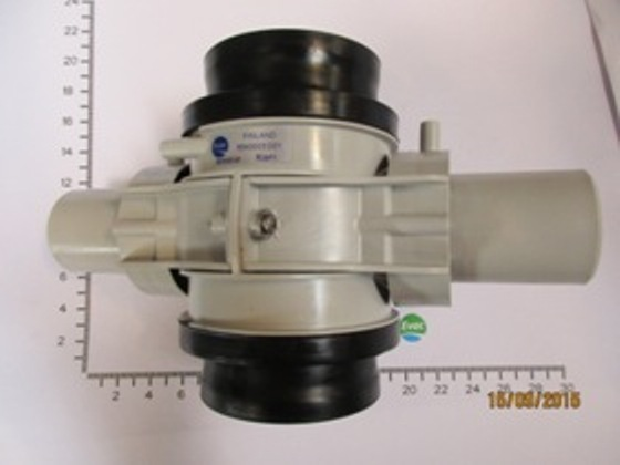 6543003-DISCHARGE VALVE,910, OPEN-PLUGGED