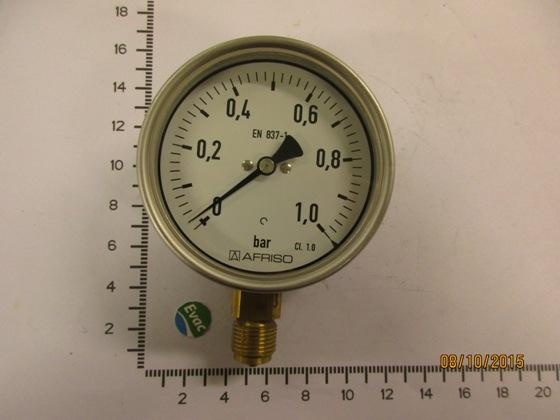 6543142-PRESSURE GAUGE(0-1 BAR)