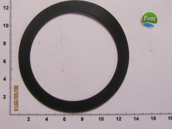 5430827-GASKET 125 / 100 X 2 NATURAL RUBBER