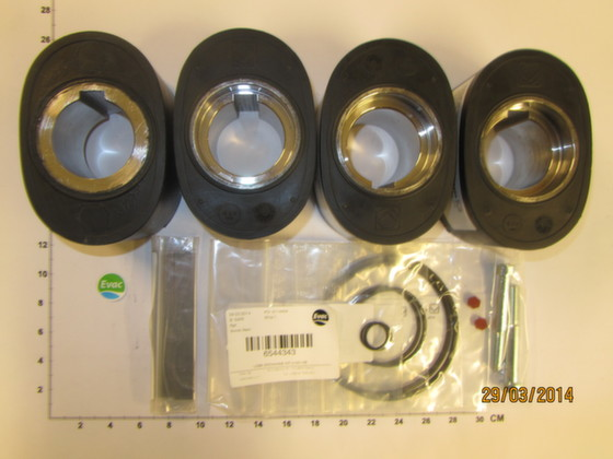 6544343 - LOBE EXCHANGE KIT - Brand: EVAC Image