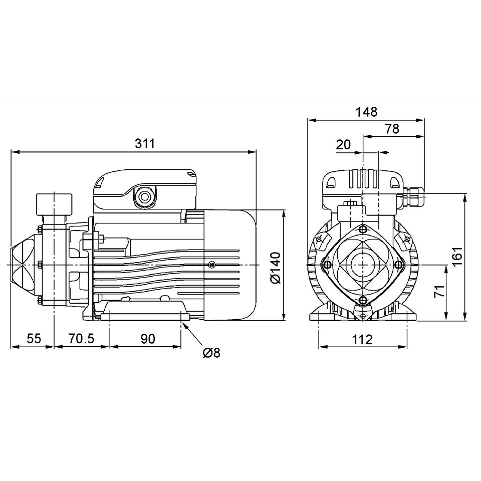 6545617-EFFLUENT PUMP