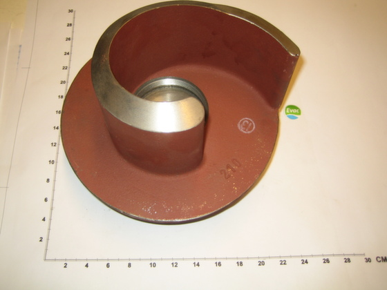 5490514 - IMPELLER 210MM FOR PUMP 7,5/QSH 101-F - Brand: EVAC Image