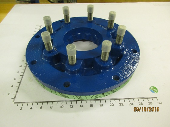 5490532-COVER WITH WEAR PLATE FOR PUMP