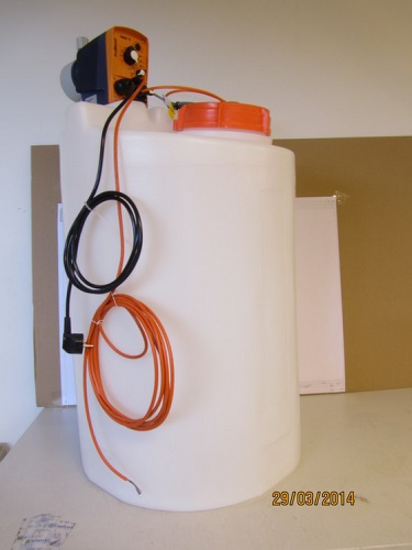 6540390 - DOSING PUMP UNIT ANTIFOAMING,60L TANK - Brand: EVAC Image