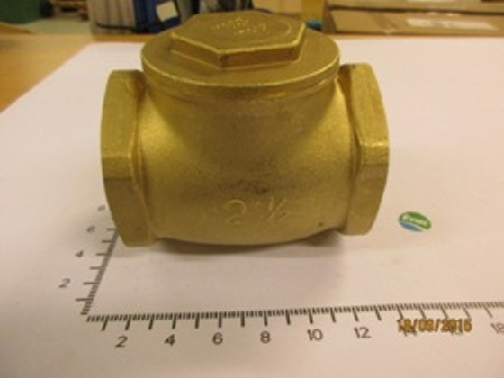 6541525-NON RETURN VALVE 2 1/2