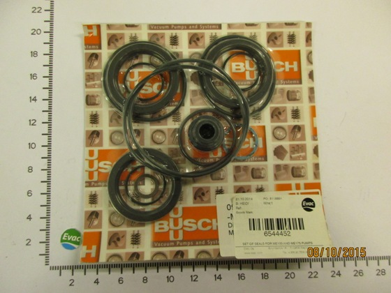 6544452-SET OF SEALS FOR ME100 AND ME175 PUMPS