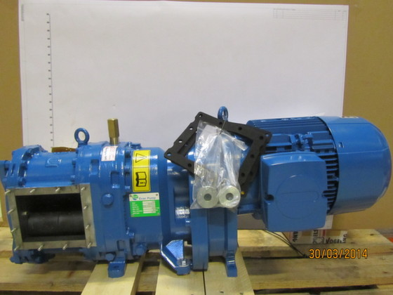 6545641-SEWAGE PUMP EVAC FX60 WITH MOTOR, DIRECT DRIVE