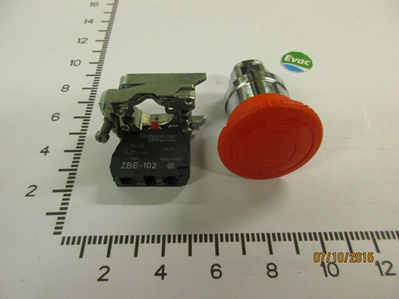 6549148-EMERGENCY STOP BUTTON XB4BS542