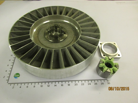 6549499-IMPELLER V22YR COMPLETE WITH COUPLING CF 24/24