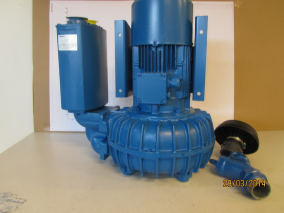 70303001 - BLOWER MODEL V22YR - Brand: EVAC Image