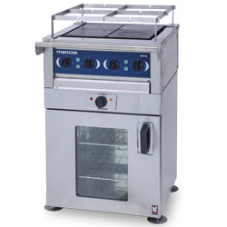 3753594MK-Range with oven Metos Minor RP4/LD64 400V