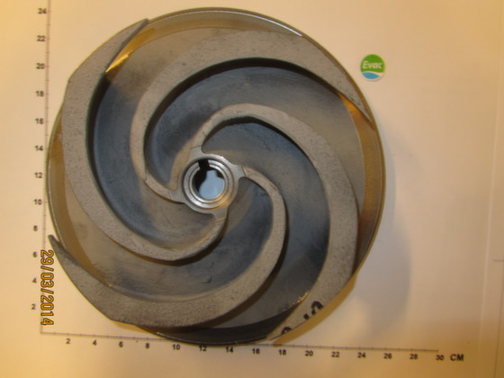 5451450-IMPELLER 210MM 60HZ FOR PUMP EVAC SE 044A